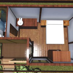 Revo Driftwood - Interior render