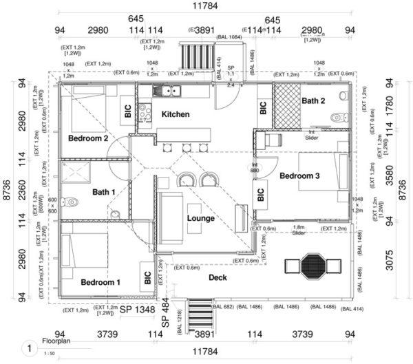 Revo Full Moon - 3 bedroom unit plan