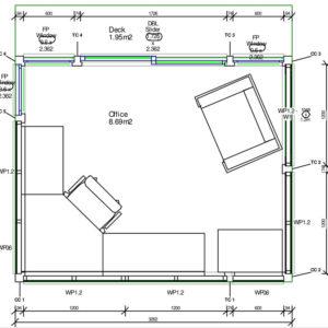 Revo Timber Office - unit plan