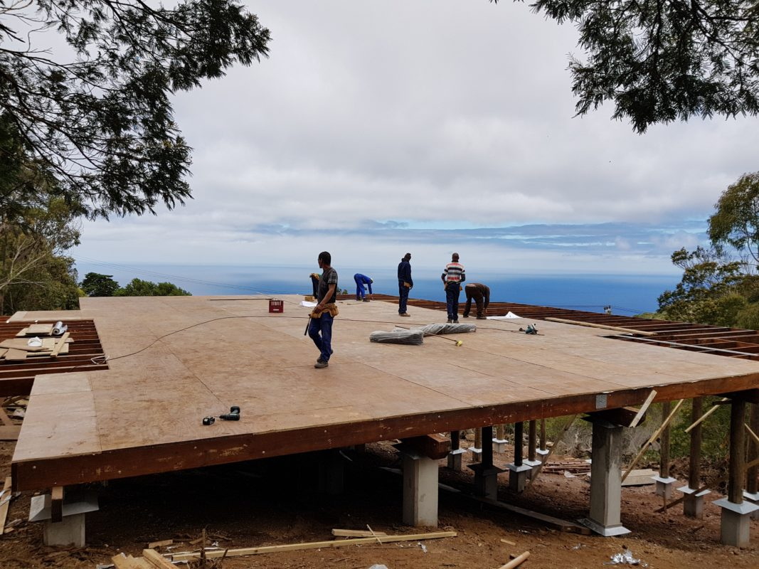 St Helena Remote Timber Construction Project