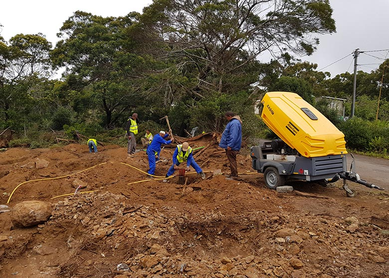 St Helena Remote Timber Construction Project 2